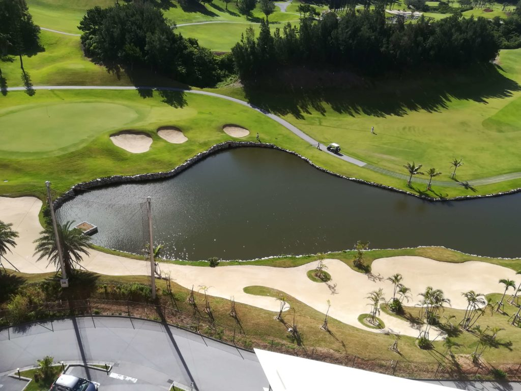 カフーリゾート隣のゴルフ場